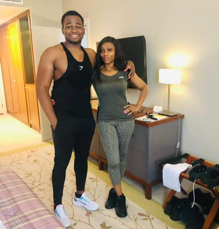 This Nigerian mum and her son are being mistaken for a couple