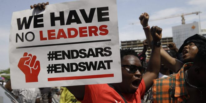End SARS Now Credit:Daily post