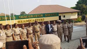 Fire guts the Nigerian Immigration Service office in Abuja