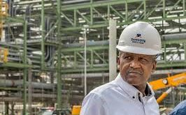 Dangote is suing his former girlfriend