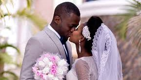 Kissing in marriage is a symbol of peace