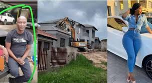 Man destroys the house he bought for his girlfriend due to cheating
