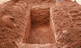 Man dug grave and bury wife alive
