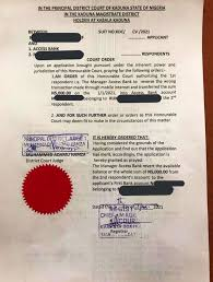 A man in kaduna drags lady to court over 5k after she failed to come