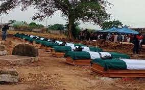 soldiers killed by bandits buried today