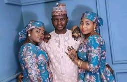 Politician married two wives at once