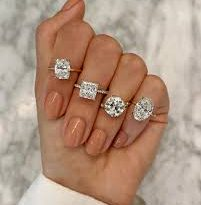 Man proposes with different rings